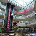 Inside looks like any other mall, but it's to an unseen scale in terms of density.